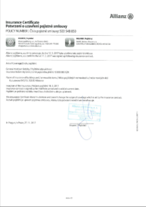 certifikat pojisteni 2018