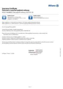Certifikat 2020